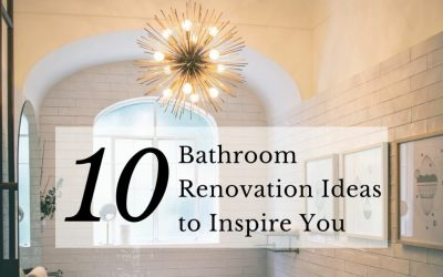 10 Bathroom Renovation Ideas to Inspire You